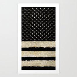 Triple Striped Art Print