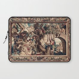 Triumph of Constantine over Maxentius at the Battle of the Milvian Bridge Laptop Sleeve
