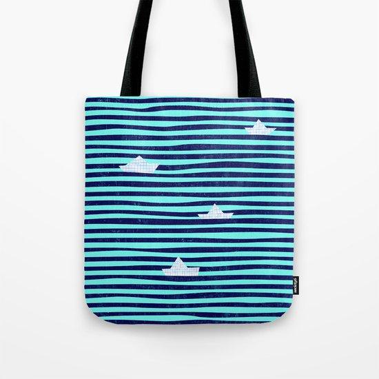 Origaboat blue Tote Bag