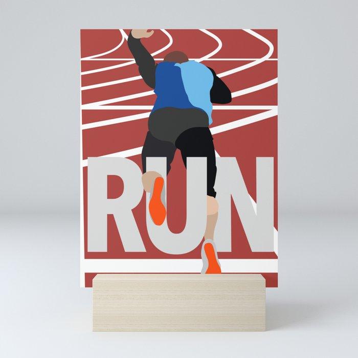 Runner Mini Art Print