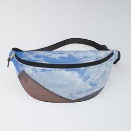 Looking Up Fanny Pack