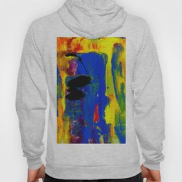 Abstraction Wonder No.2a by Kathy Morton Stanion Hoody