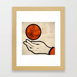 juggle Framed Art Print