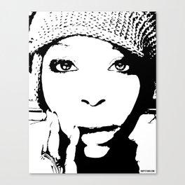 Badu Canvas Print
