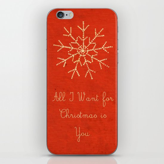 For Christmas! iPhone & iPod Skin