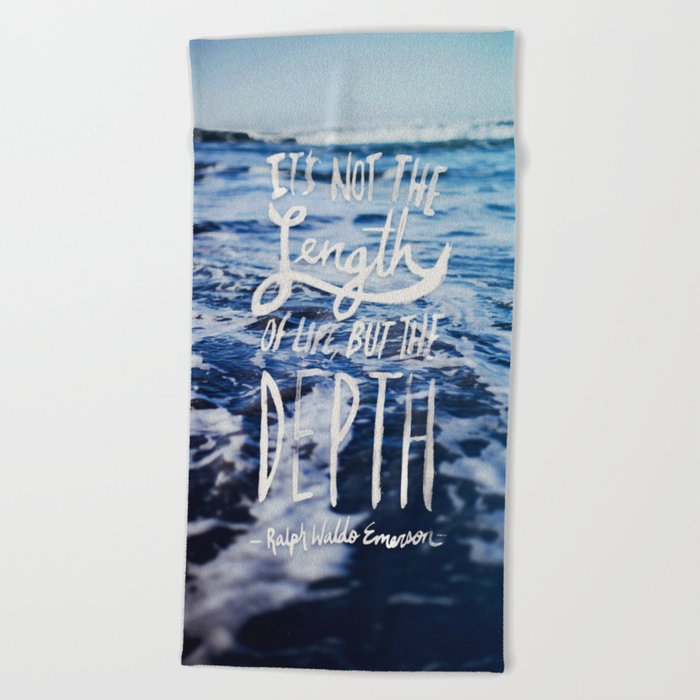 Depth x Ocean Beach Towel