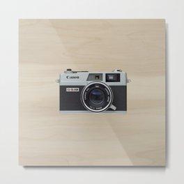 Canonet QL17 - vintage camera  Metal Print