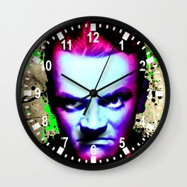 James Cagney, angry Wall Clock