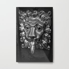 Leo v.1 Metal Print
