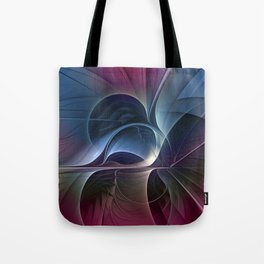 Fractal Mysterious, Colorful Abstract Art Tote Bag