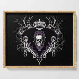Aurelio Voltaire Crest Serving Tray