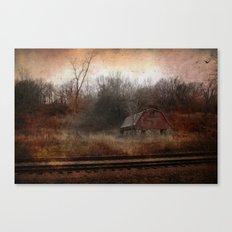 Stone Tracks Canvas Print