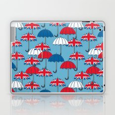 UK Umbrellas Laptop & iPad Skin