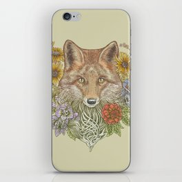 Fox Garden iPhone Skin