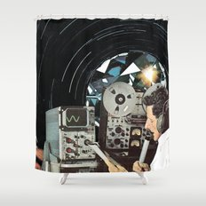 Distorted Thoughts Shower Curtain