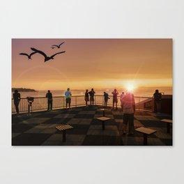 Elliott Bay Rays Canvas Print