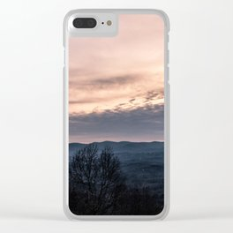 North Georgia Mountains 2 Clear iPhone Case