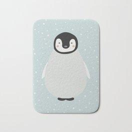 Atticus the penguin Bath Mat