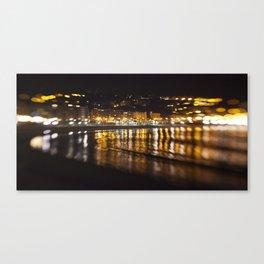 La Concha, San Sebastián Canvas Print