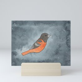 Baltimore Oriole - Sacral Chakra - Watercolor Painting Mini Art Print