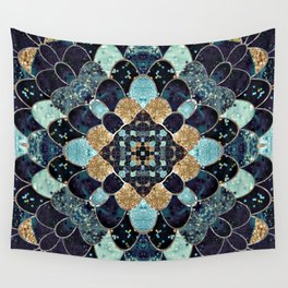 REALLY MERMAID - MYSTIC BLUE Wall Tapestry