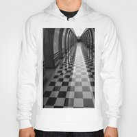 moscow Hoodies featuring Moscow Metra by Kim Ramage