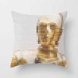 C3P0 - StarWars - Pantone Swatch Art Throw Pillow