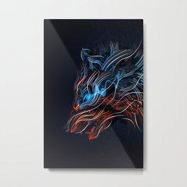 Feral Metal Print