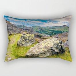 Quarry Steps Snowdonia Rectangular Pillow