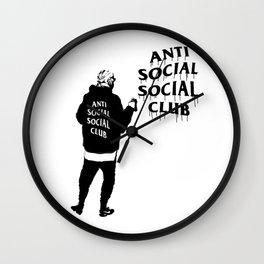 hype series _anti anti Wall Clock