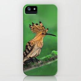 Upupa iPhone Case