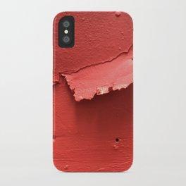 Red Pop iPhone Case