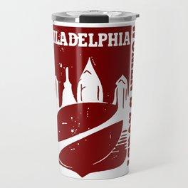 Philly Womens Rugby Logo Travel Mug