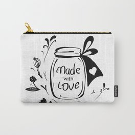 Made with love Carry-All Pouch