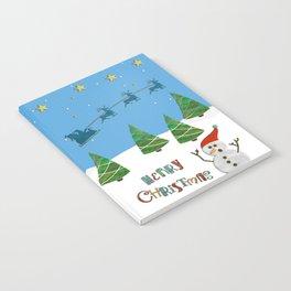 Christmas motif No. 1 Notebook