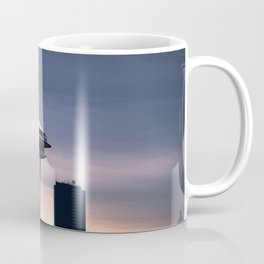 Space Needle Sunset - Seattle Nights Coffee Mug