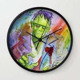 Friend Frankenstein Wall Clock