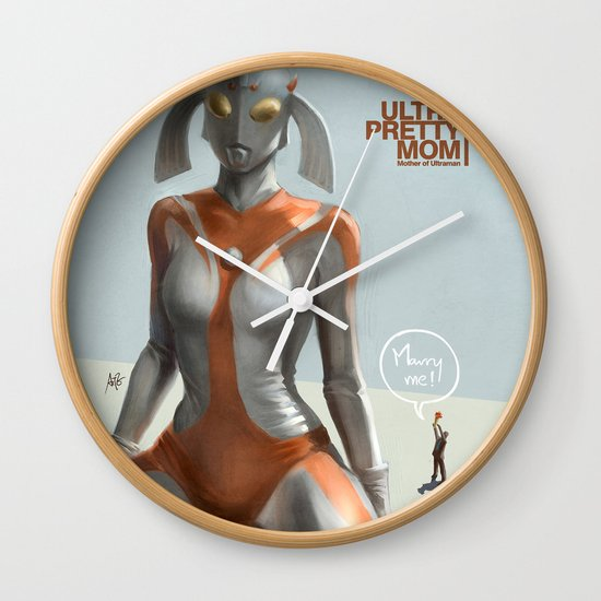 Ultra Pretty Mom Wall Clock