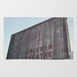Drive-In Movie Theatre Rug