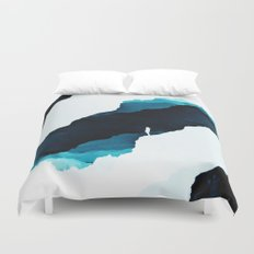 Teal Isolation Duvet Cover