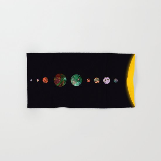 Another solar system Hand & Bath Towel