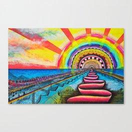Sundog Canvas Print