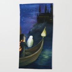 Harry's Journey Beach Towel