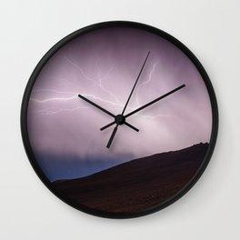 Violent Storm Wall Clock