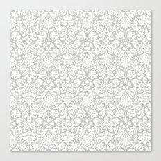 Grey Abstract Canvas Print