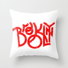 Brooklyn NY Throw Pillow