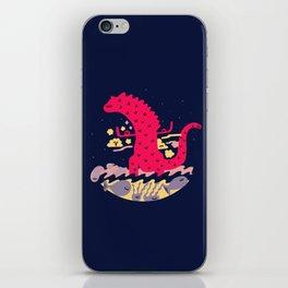 Mr Zilla Fire Beast iPhone Skin