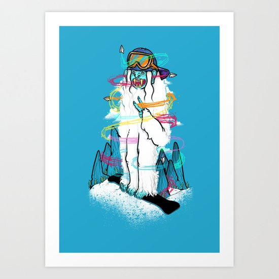 A Colorful Sunday! Art Print