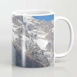 Mountain with Snow on Top Coffee Mug