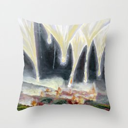 Emotional Space 7ish Throw Pillow